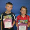 Tischtennis Mini-Meisterschaft: Sofia und Konstantin spielten beim Verbandsentscheid