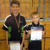 Konstantin Wiening und Simon Antke werden Vize-Stadtmeister im Tischtennis