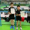 Tischtennis-Bezirksmeisterschaften: Bronze für TVK-Doppel